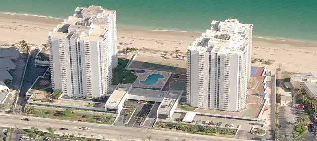 Renaissance Ii Of Pompano Beach Condos For In Florida Aerial View